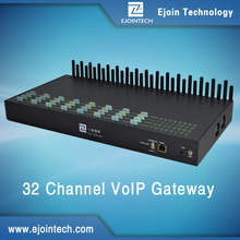 Ejoin goip 32 gsm channels international calling and sms modem home gateway unit