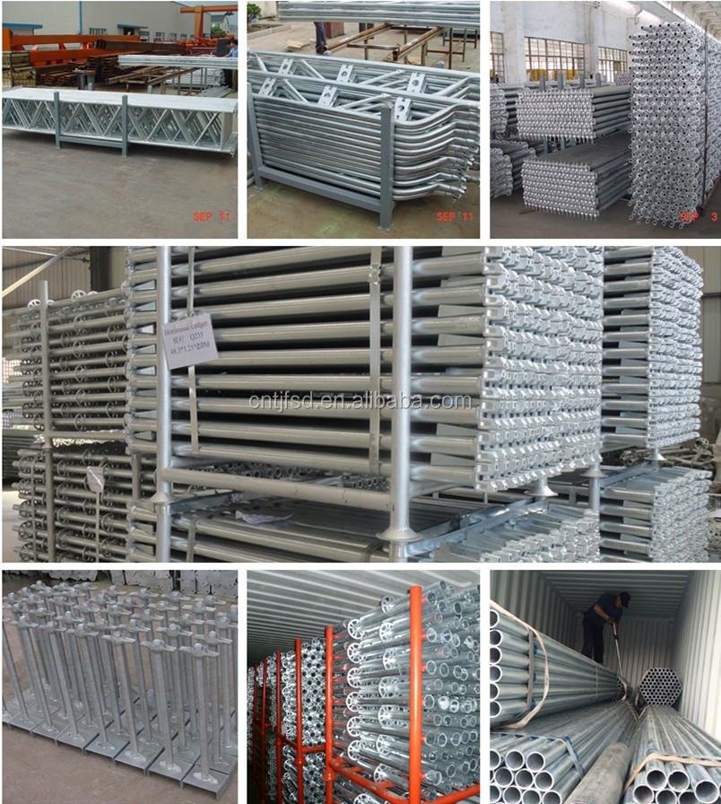 Galvanized Steel Scaffolding : Years factory galvanized metal scaffolding tube price