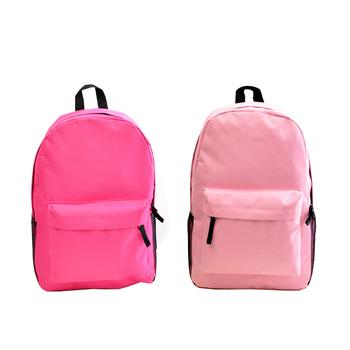 4ac4a194fbb1 Cheap Wholesale 2018 New Style Canvas Rucksack Kids Plain School Bag ...
