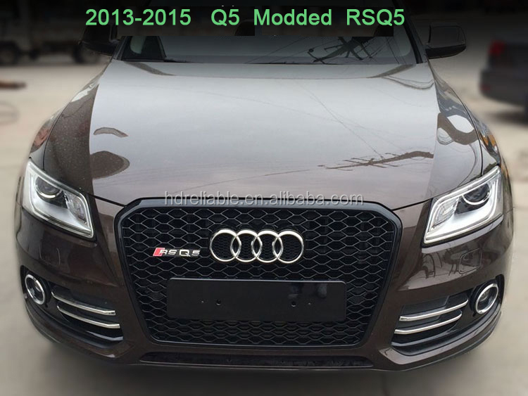 rs5 chrome grill for audi q5 grill audi q5 for audi q5 sq5 rsq5 2010 2015 for audi q5 modded. Black Bedroom Furniture Sets. Home Design Ideas