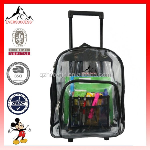 Rolling Clear Backpack, Rolling Clear Backpack Suppliers and ...
