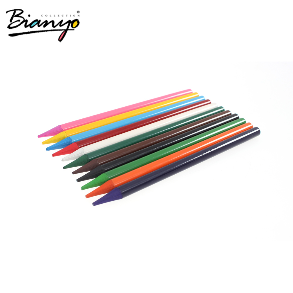 OEM 12 pcs woodless watercolor pencils for artist