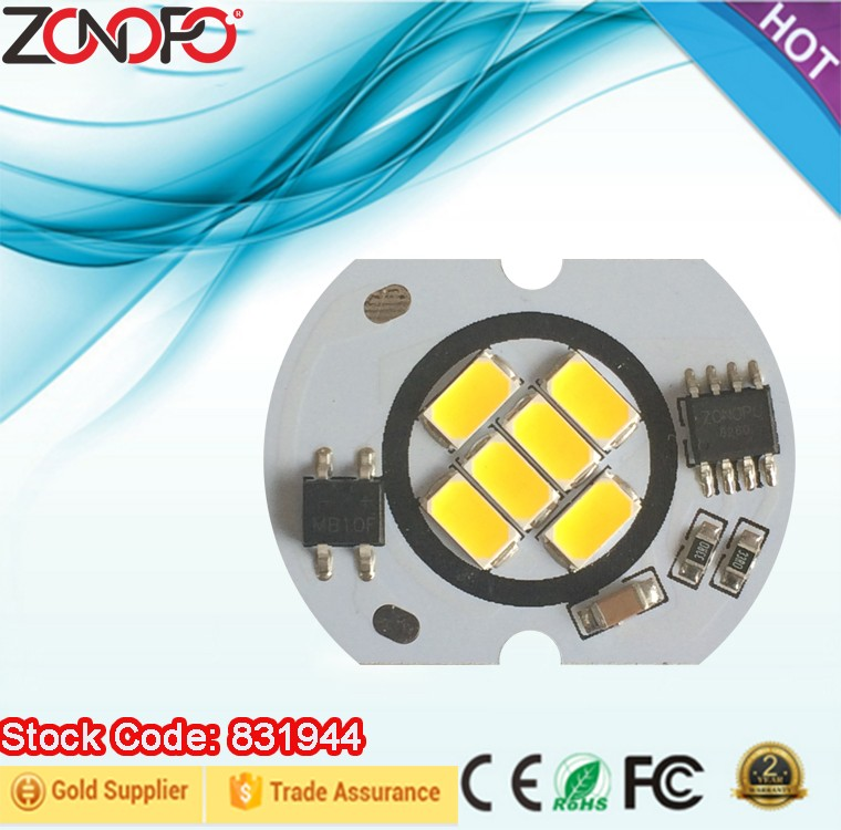 High efficient led module 5730 6w cob led module with customized service