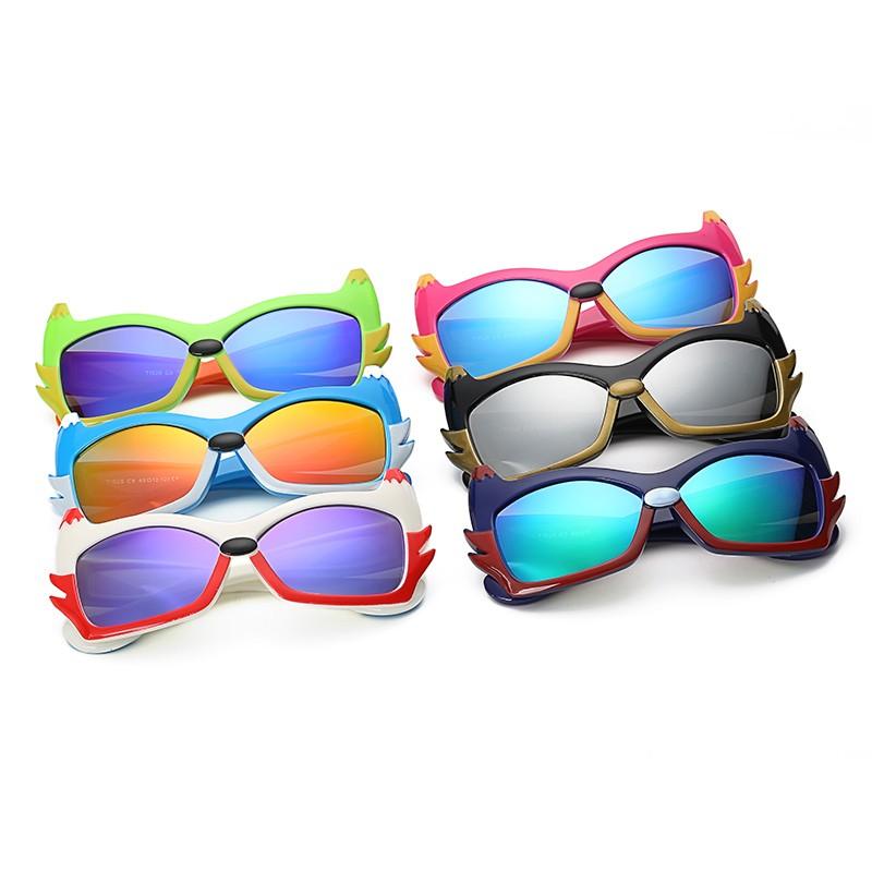 6a8ae1a243 JLB59 Cat Eyes Children TAC Polarized Sunglasses Anti-Reflective European  Polaroid UV400 for Boys Girls