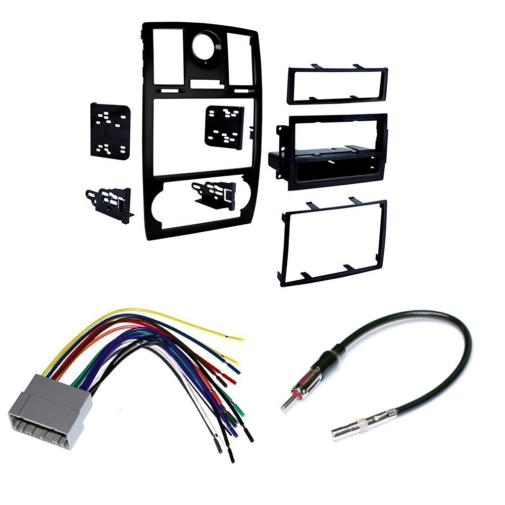 Get Quotations · 2005-07 Chrysler 300 CAR STEREO INSTALL MOUNTING KIT WIRE  HARNESS AND RADIO ANTENNA