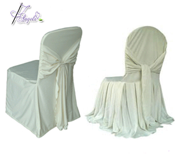 ivory spandex scuba chair covers for banquet chairs in event decoration