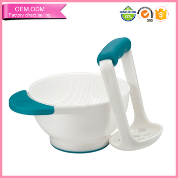 new design feeding bowl baby freshfoods grinding bowl