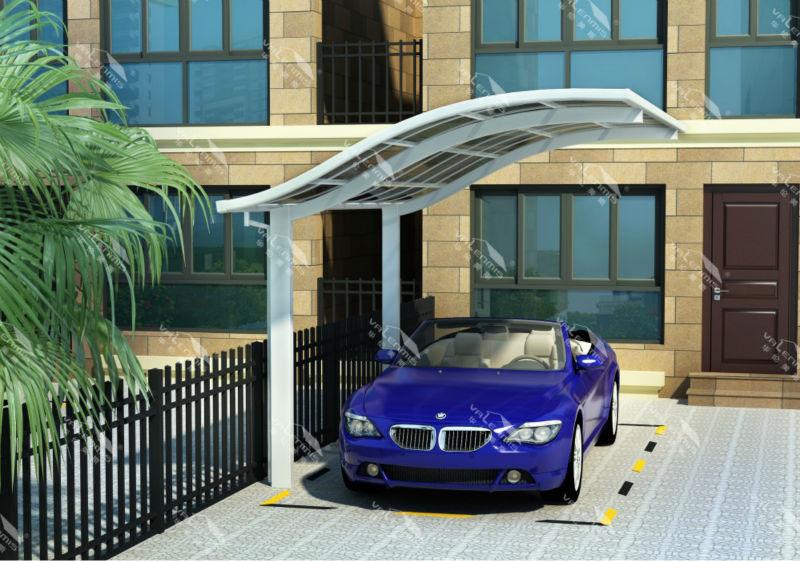 Fuerte y duradero de aluminio de estacionamiento del coche for Garaje portatil