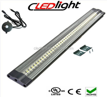 Flat linear thin led cabinet lighting Fixtures Led strip light Dimmer switch 3 yearsu0027 warranty  sc 1 th 213 & Flat Linear Thin Led Cabinet Lighting Fixtures Led Strip Light ...