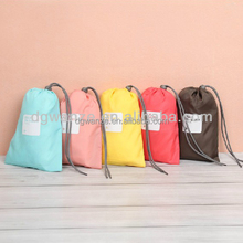 new design travel bags Logo can printing nylon laundry bag cheap laundry
