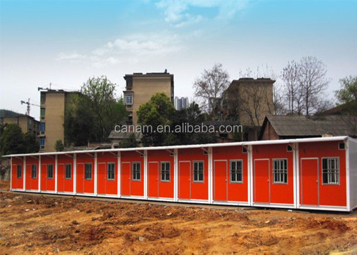 China Recycled Storage Modified Shipping Container Housing For Temporary Labor Dorm supplier