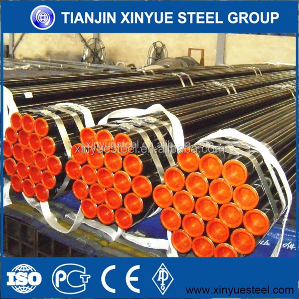 API5L X42, X52, X60, X65, X70 Oil and Gas ERW Welded Steel Pipe