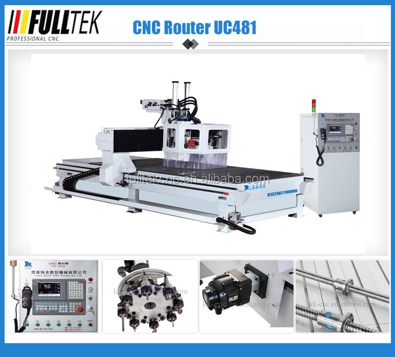 carousel auto tool changer cnc router,wood engraving machine UC-481