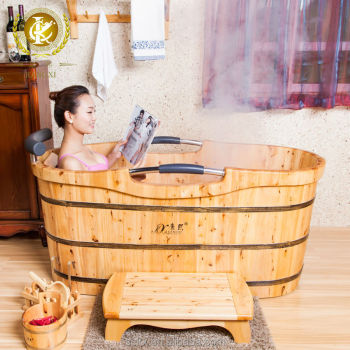 Attractive Quality Cedar Wood Garden Tub Lowes, Walk In Shower Tub Combo