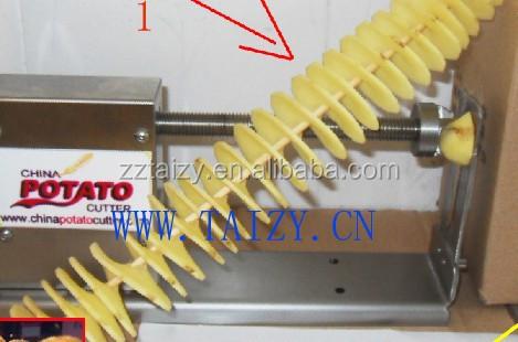elektrische spirale kartoffelchips der maschine spirale frites kartoffelspirale. Black Bedroom Furniture Sets. Home Design Ideas