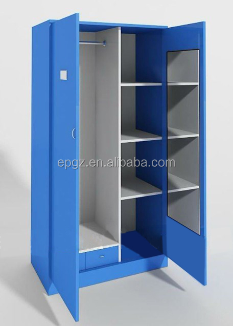 School dormitory cheap popular tall wood storage cabinets