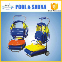 Automatic cleaner robot for swimming pool cleaning
