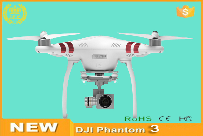 RC Drone DJI Phantom 3 Standard Included 2.7K HD Video 12 Magepixel Photo Camera