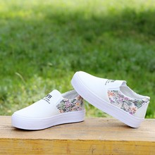 2017 wholesale woman platform canvas shoes