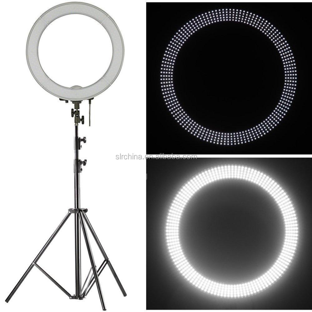 LED Anillo De Luz Redonda Regulable Dimmer Tenue Ajustable