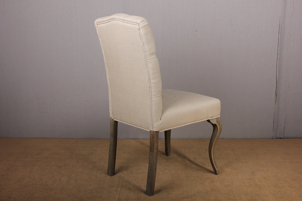 French Style Tufted Upholstered Dining Chair Buy French Country