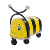 wooden ride on animals toy bee