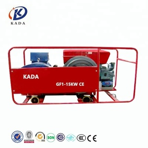 KADA tractor generator set changchai small engine water cooled 15kw gf1 single cylinder diesel generator