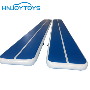 Custom Inflatable Air Tumble Track Water Floating Gymnastics Gym Mat