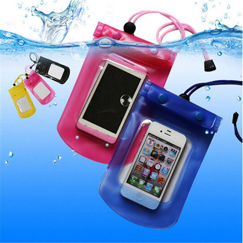 Mobile Phone Waterproof Bag Case Cover Underwater for iPhone4S 5S 6S Water proof Mobile Phone Accessories