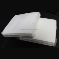 Service of High-Quality Disposable Creped PET Woodpulp Nonwoven Fabric