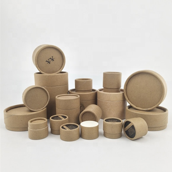 wholesale eco friendly cosmetic containers with custom printed