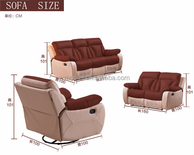 Lorenzo Leather 3 Seat Recliner Sofa Covers - Buy 3 Seat ...