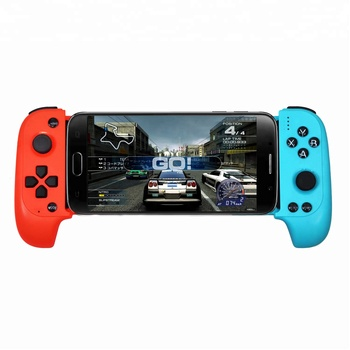 2019 Salange Wireless Bluetooth Gamepad Joystick for iPhone IOS11.1 Above Android Telescopic Game Controller pad MFI Game