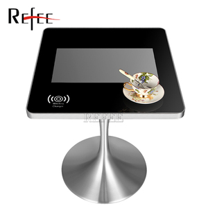 2018 new style 21.5 small size resistive Touch table screen monitor for meeting room