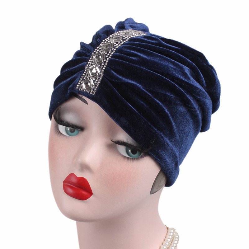 0a1cab062028f Women Cancer Chemo Hat Beanie Scarf Turban Head Wrap Caps ...