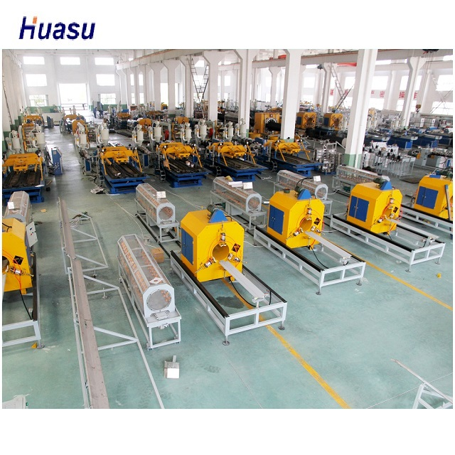 <strong>PE</strong>/LDPE DOUBLE WALL CORRUGATED (DWC) PIPE MACHINE PRODUCTION LINE