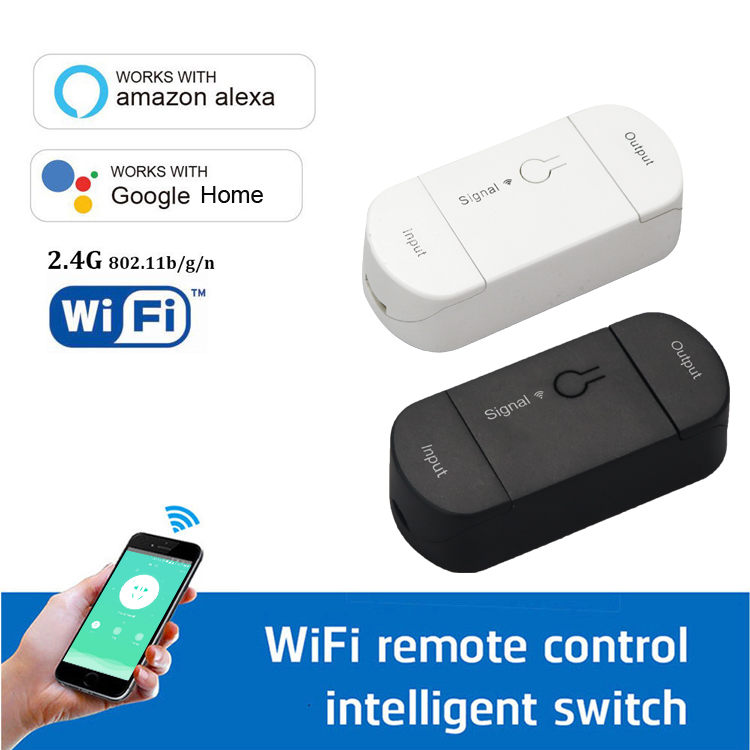 Smart home 100v- 240v 10A wifi controlled power switch light switch wifi