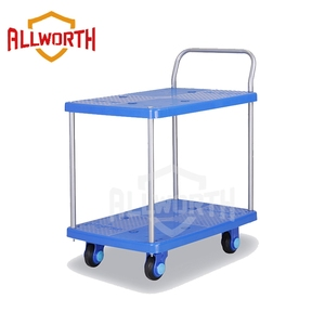 Lightweight Carry Silent Plastic Trolley with Guardrail