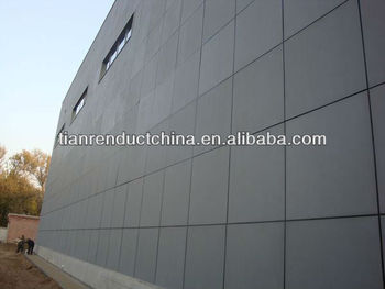 Fireproof Waterproof Exterior Wall Cladding Panels View