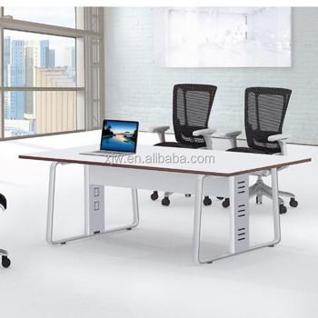 modern two person cheap white computer desk for office desk - Cheap Desk