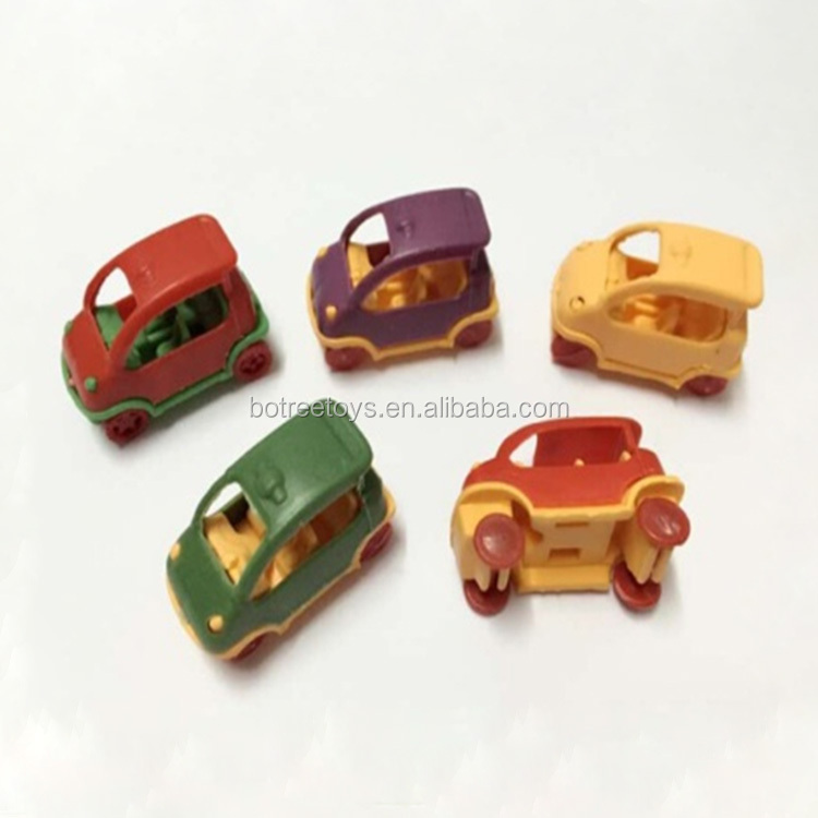 Mini Cartoon Patrol Car Plastic Toy for Promotion Wholesale