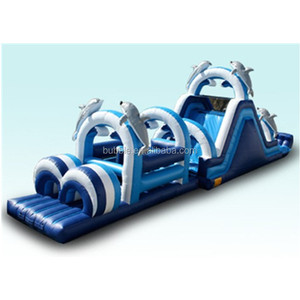 Giant PVC Adult Inflatable Obstacle Course/inflatable obstacle games