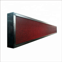 P10 outdoor full color led scrolling tekst board \ outdoor elektronische prikbord \ voetbal reclame led display