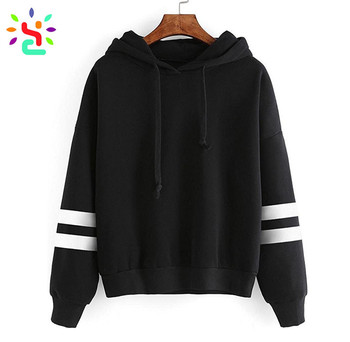 Fashion Thick Hoodie Womens Plain Hoodies No Pocket Pullover ...