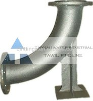 ductile iron long radius bends fittings
