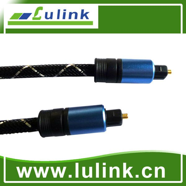 Óptico de fibra óptica Toslink Digital Audio cable