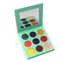 2019 Best selling new product pressed eyeshadow 9 color makeup eyeshadow