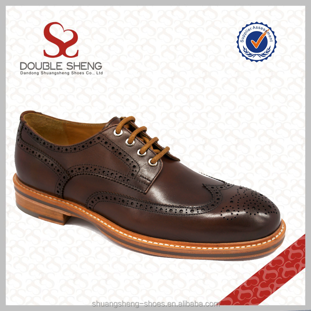 Bullock patterns perforated leather shoes design popular boots tide 2015 men 2016 OxaqTT6