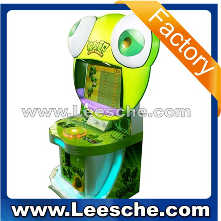 LSJN-072 2015 New product! mini arcade machine Running Zombie lottery game machine for kids