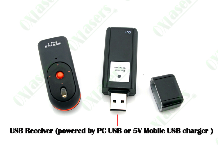 Ultrasonic Receiver Directional Microphone: Oxlasers 2.4g Bluetooth Usb Wireless Microphone 1 Receiver